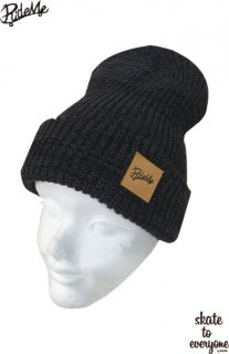 RM Beanie#2 (charcoal gray×Black)