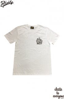 RideMe×SPREAD Collaboration Tee/WHITE