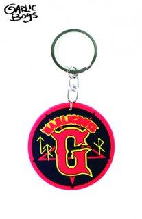 GARLICBOYS Gロゴキーホルダー(RED)
