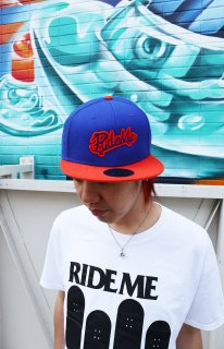 RideMe Snap Back Cap O.BLUE
