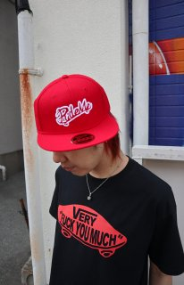 RideMe Snap Back Cap RED