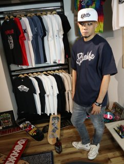 RideMe & Champion  BONE LOGO NAVY
