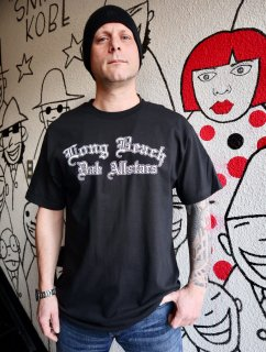 LONG BEACH DUB ALL STARS TEE BLACK【Official】
