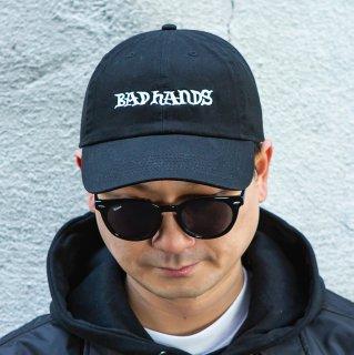 【BAD HANDS】LOGO CAP(Black)
