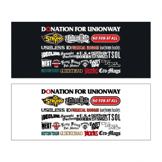 【ALL BANDS】DONATION FOR UNIONWAY(Towel)