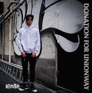 【DONATION FOR UNIONWAY】 Pullover hoodie(GRAY)