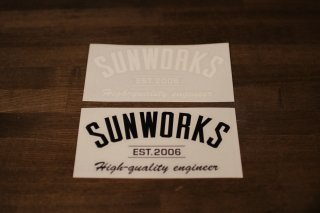 Sunworks arch Sticker
