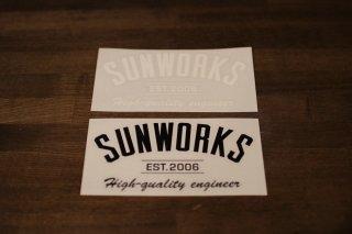 Sunworks arch Sticker