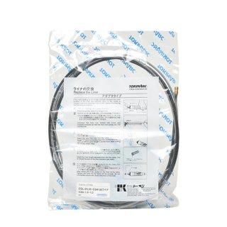 トーキン 半自動(CO2)溶接トーチ用交換ライナー(スプリングライナ) No.037004 ワイヤ径1.0~1.2 長さ4mトーチ用