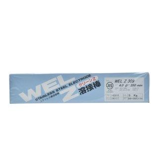 WEL Z 309 4.0mm 5kg(小箱) ステンレス鋼溶接棒(被覆アーク溶接棒) 日本ウエルディング・ロッド