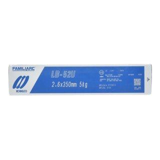 KOBELCO LB-52U(LB52U) 2.6mm×350mm 5kg/小箱 神戸製鋼 被覆アーク溶接棒 美しい裏ビード