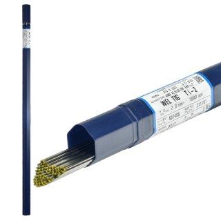 純チタン用TIG溶加棒 WEL TIG Ti-2 φ2.0mm 1kg/箱 日本ウエルディング・ロッド