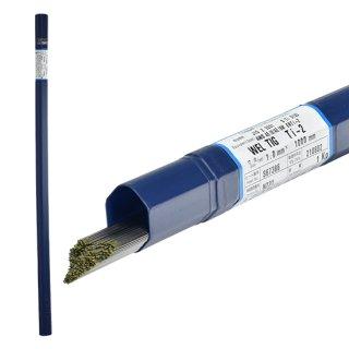 純チタン用 TIG溶加棒 WEL TIG Ti-2 φ1.0mm×5本バラ売り 日本ウエルディング・ロッド
