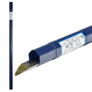 純チタン用 TIG溶加棒 WEL TIG Ti-2 φ1.6mm×5本バラ売り 日本ウエルディング・ロッド