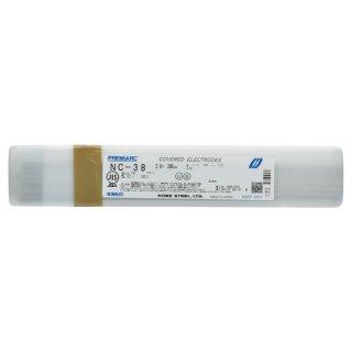 神戸製鋼 ステンレス用被覆アーク溶接棒 NC-38 φ2.6mm×300mm バラ売り1kg