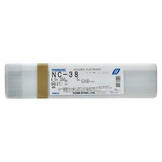 神戸製鋼 ステンレス用被覆アーク溶接棒 NC-38 φ4.0mm×350mm バラ売り1kg
