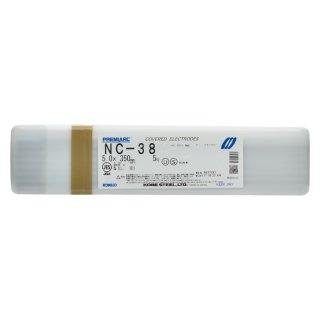 神戸製鋼 ステンレス用被覆アーク溶接棒 NC-38 φ5.0mm×350mm バラ売り1kg