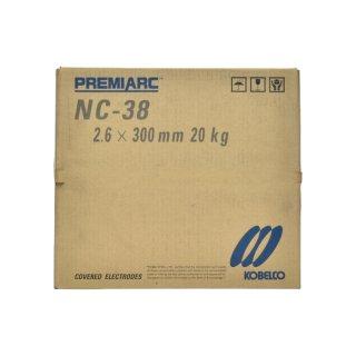 神戸製鋼 ステンレス用被覆アーク溶接棒 NC-38 φ2.6mm×300mm 20kg/大箱