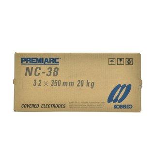 神戸製鋼 ステンレス用被覆アーク溶接棒 NC-38 φ3.2mm×350mm 20kg/大箱