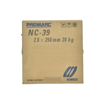 神戸製鋼 ステンレス用被覆アーク溶接棒 NC-39 φ2.0mm×250mm 20kg/大箱