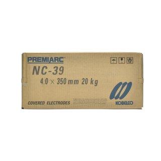 神戸製鋼 ステンレス用被覆アーク溶接棒 NC-39 φ4.0mm×350mm 20kg/大箱