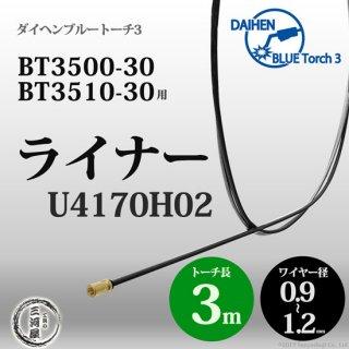 CO2溶接トーチ用ライナ U4170H02  ダイヘン ブルートーチ3用