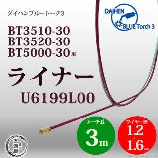 CO2溶接トーチ用ライナ U6199L00  ダイヘン ブルートーチ3用