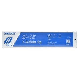 神戸製鋼(KOBELCO) 亜鉛メッキ用溶接棒 Z-1Z(Z1Z) φ2.6mm 5kg/小箱