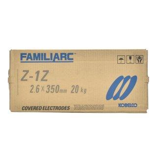神戸製鋼(KOBELCO) 亜鉛メッキ用溶接棒 Z-1Z(Z1Z) φ2.6mm 20kg/大箱