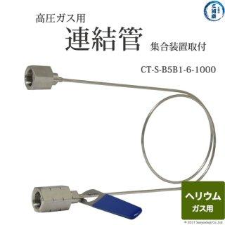 ヘリウムガス用連結管 CT-S-B6B1-5-1000 集合装置向け 日酸TANAKA
