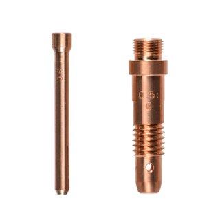【TIG部品】コレット・コレットボディセット φ0.5mm用 H21B13・H950C11【AW-17用】