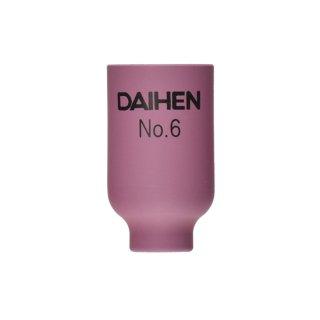 【TIG部品】ダイヘン ガスレンズ用ノズル No.6 H21B42 【AWD-18用】