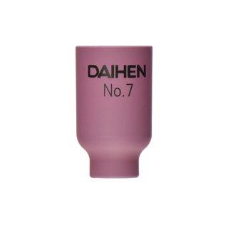 【TIG部品】ダイヘン ガスレンズ用ノズル No.7 H21B43 【AWD-18用】