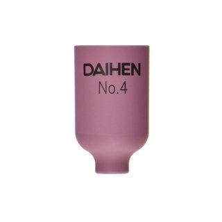 【TIG部品】ダイヘン ガスレンズ用ノズル No.4 H21B40 【AWD-18用】