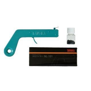 日酸TANAKA 火口ライター NL-101+火打石(100個入)セット