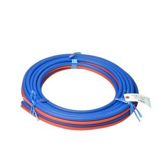 十川 細径ツインホース 5×5×2S (青+赤) 10m巻
