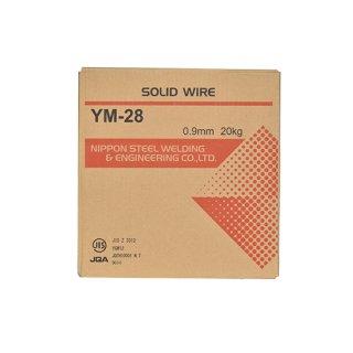 溶接用ソリッドワイヤ YM-28 φ0.9mm×20kg巻 日鉄溶接工業 (旧:日鉄住金溶接工業 NSSW)
