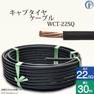 溶接用キャプタイヤ(キャブタイヤケーブル) WCT 22SQ 30m