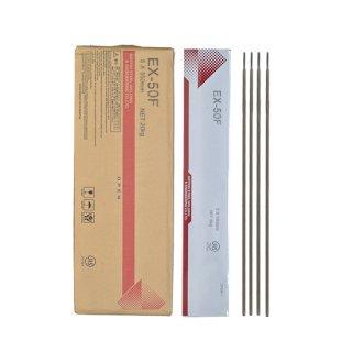NSSW EX-50F EX50F 5.0mm×550mm 5kg/小箱 TMCP490MPa級高張力鋼のすみ肉溶接に適した低ヒュームタイプ