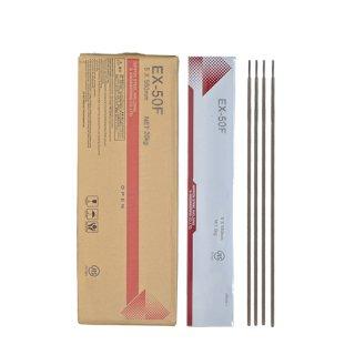 NSSW EX-50F EX50F 5.0mm×550mm 20kg/箱 TMCP490MPa級高張力鋼のすみ肉溶接に適した低ヒュームタイプ