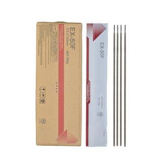 NSSW EX-50F EX50F 5.5mm×550mm 20kg/箱 TMCP490MPa級高張力鋼のすみ肉溶接に適した低ヒュームタイプ