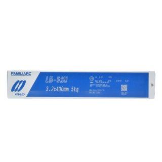 KOBELCO LB-52U(LB52U) 3.2mm×400mm 5kg/小箱 神戸製鋼 被覆アーク溶接棒 美しい裏ビード