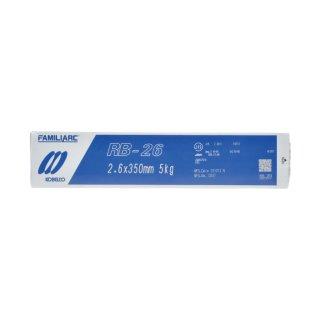 KOBELCO RB-26(RB26) 2.6mm×350mm 5kg/小箱 神戸製鋼 被覆アーク溶接棒 薄板用高酸化チタン系