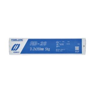 KOBELCO RB-26(RB26) 3.2mm×350mm 1kg バラ売り 神戸製鋼 被覆アーク溶接棒 薄板用高酸化チタン系