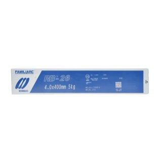 KOBELCO RB-26(RB26) 4.0mm×400mm 1kg バラ売り 神戸製鋼 被覆アーク溶接棒 薄板用高酸化チタン系