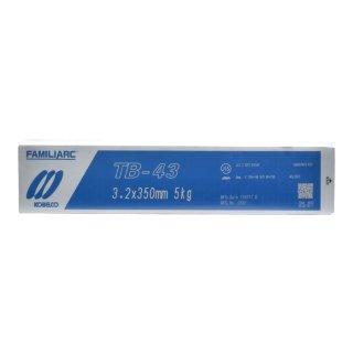 KOBELCO TB-43(TB43) 3.2mm×350mm 5kg/小箱 神戸製鋼 被覆アーク溶接棒タック・断続・すみ肉溶接などに最適