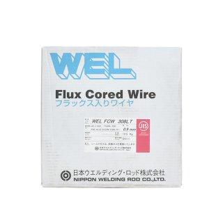 WEL FCW 308LT 0.9mm 12.5kg巻 半自動用ステンレスワイヤ 日本ウエルディング・ロッド