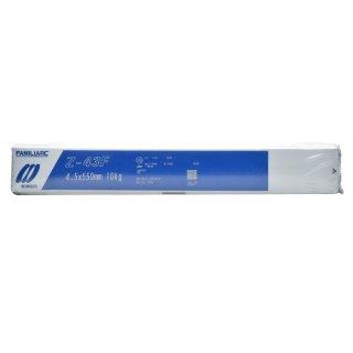 KOBELCO Z-43F(Z43F) 4.5mm×550mm 10kg/小箱 神戸製鋼 被覆アーク溶接棒 低ヒューム、すみ肉溶接