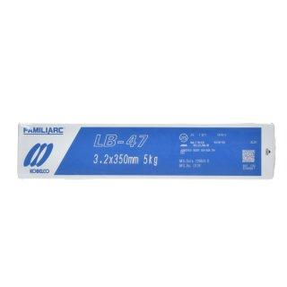KOBELCO LB-47(LB47) 3.2mm×350mm 5kg/小箱 神戸製鋼 被覆アーク溶接棒最もベーシックな低水素系溶接棒