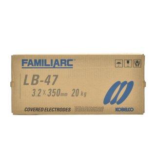 KOBELCO LB-47(LB47) 3.2mm×350mm 20kg/箱 神戸製鋼 被覆アーク溶接棒最もベーシックな低水素系溶接棒